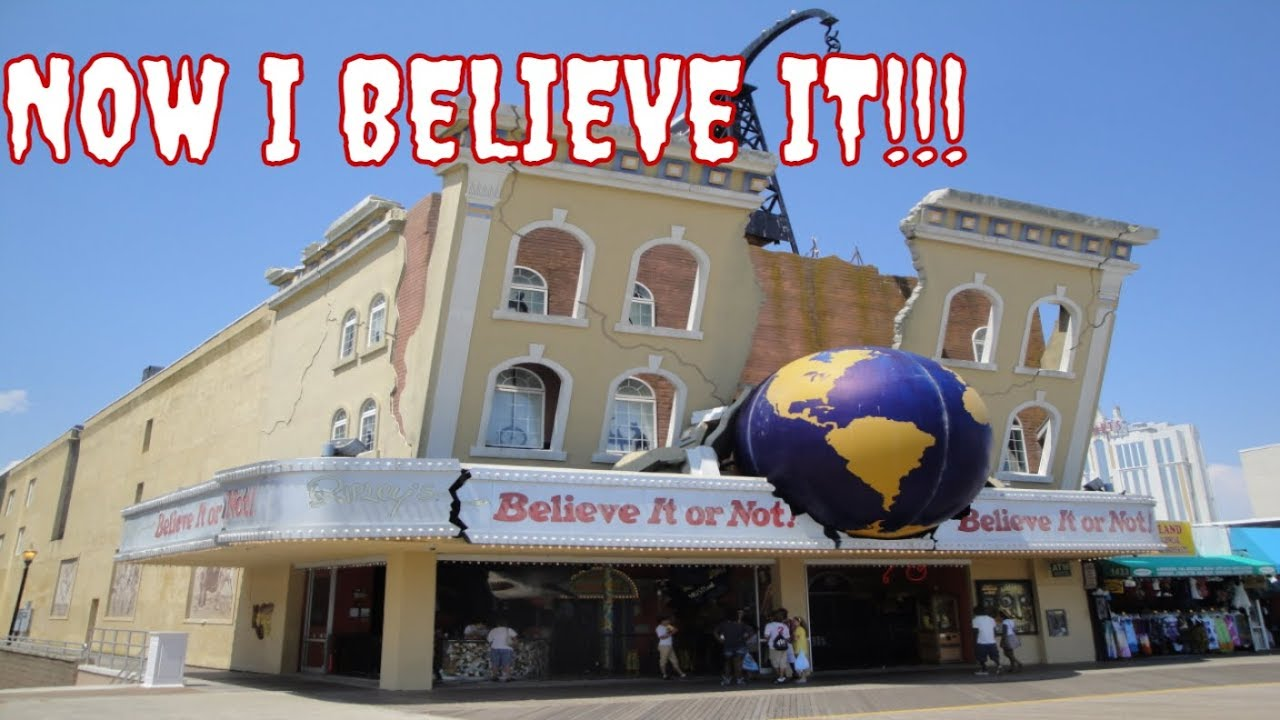 to believe or not to believe Ripley's believe it or not is the home of the unbelievable with weird news, stories, incredible videos, photos, exhibits and so much more.