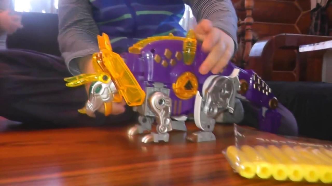 Динобот Гримлок - Робот Динозавр. Трансформеры игрушки Grimlock .