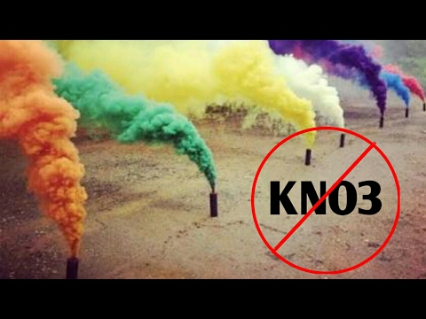 Dry smoke bomb without KNO3 || by Mr teach