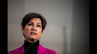Gov. Kim Reynolds discusses mental health care in Iowa at Des Moines forum