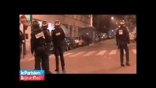 CRS Policier VS Jeune de cités avec Mortier (14 juillet) 75 PARIS