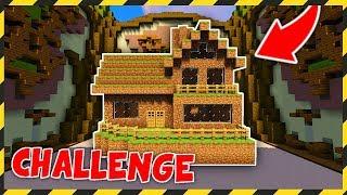 BUDUJĘ TYLKO Z DIRTA CHALLENGE! - MINECRAFT BUILD BATTLE