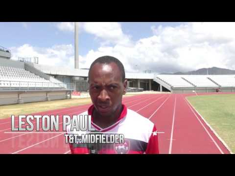 Leston Paul looks ahead to Friday's friendly with Barbados