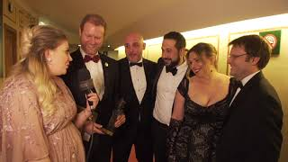 Olivier Awards with Mastercard - Outstanding Achievement in Music - Backstage Reactions