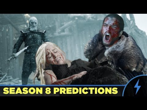 Game of Thrones Season 8 Preview PREDICTIONS!  How Will It End?