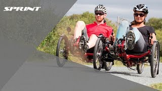 ICE Sprint Recumbent Trike