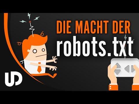 Die Macht der robots.txt! | #Tutorial #Webdesign