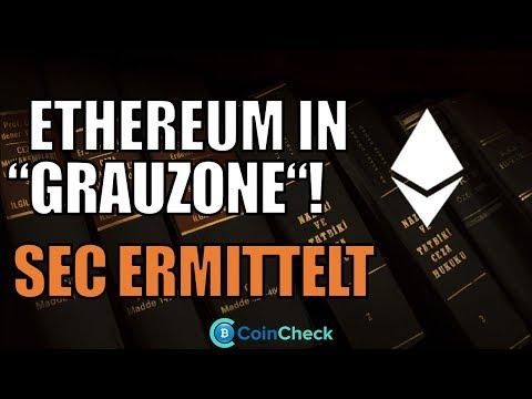 Ist Ethereum illegales Wertpapier? Automobilbranche forscht an Blockchain! Bitcoin News