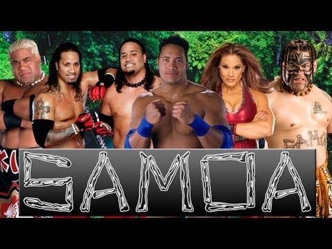 WWE Mashup: The Usos, Rikishi, Rocky Maivia, Tamina Snuka & Umaga (DALYXMAN)