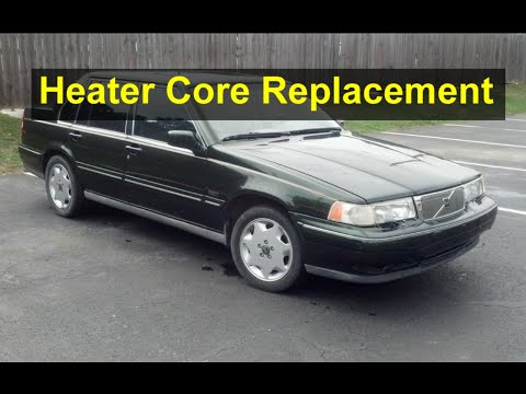 How to replace the heater core in the Volvo 960, S90, V90 cars from 1992 to 1998. – VOTD