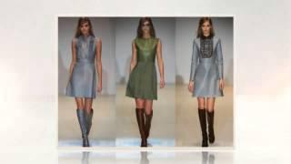 видео Самые стильные платья осень зима 2014 2015