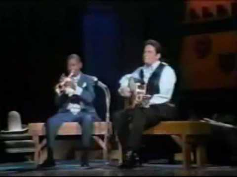 Louis Armstrong; Johnny Cash  Blue Yodel No 9