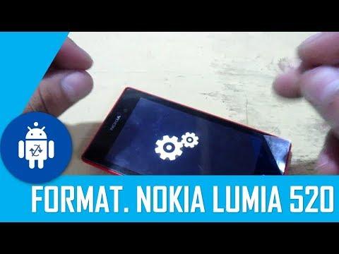 Formatear Nokia Lumia 520