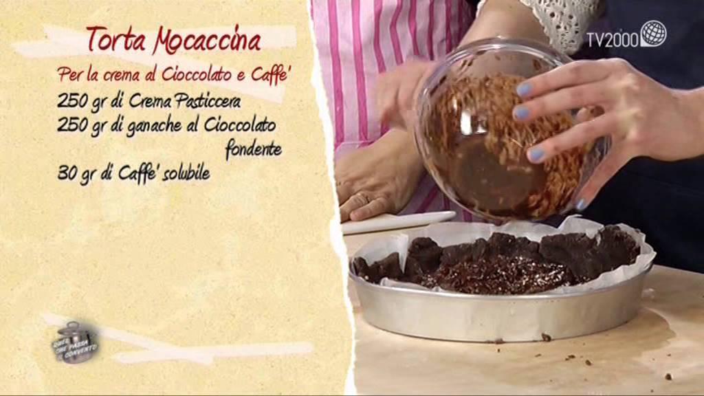 Torta Mocaccina In Due Minuti Youtube