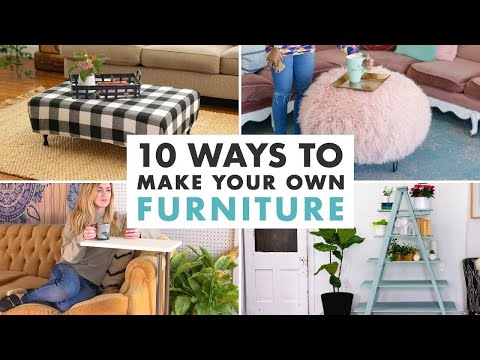 10 DIY Furniture Projects – HGTV Handmade