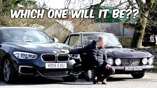 Why I'm having to pick between ridiculously different cars.. BMW M135i and Lancia Fulvia - 12 cars
