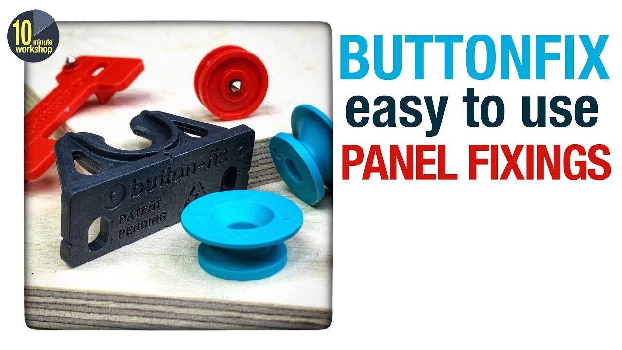 Buttonfix Hidden Panel Fixings That Work Really Well