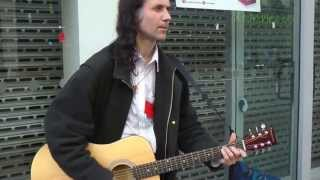Ian Whitehead - A Hard Day's Night - Sheffield Busker