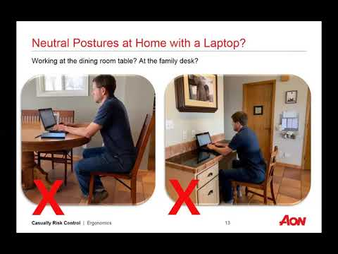 Office Ergonomics for home/virtual environment: Simple solutions to increase comfort + productivity