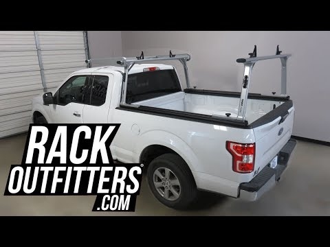 2015+ Ford F150 6-1/2 Foot Bed with Thule TracRac SR Cantilever Truck Bed Rack
