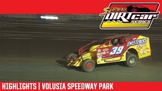 Super DIRTcar Series Big Block Modifieds | Volusia Speedway Park 2/17/18