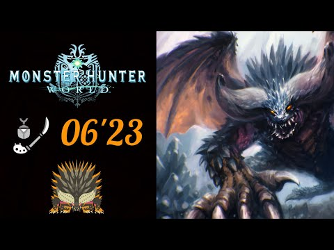 MHWorld | (06'23) Arch Tempered Nergigante Insect Glaive Solo - 歴戦王ネルギガンテ