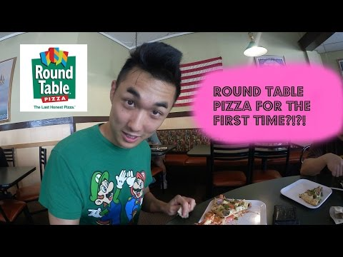 ROUND TABLE PIZZA FOR THE FIRST TIME!?!
