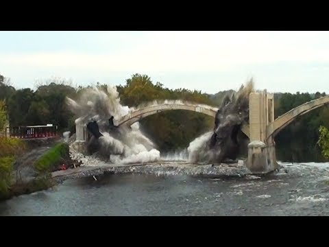 Spans #4 & #6 of the Coplay-Northampton Bridge - Controlled Demolition, Inc.