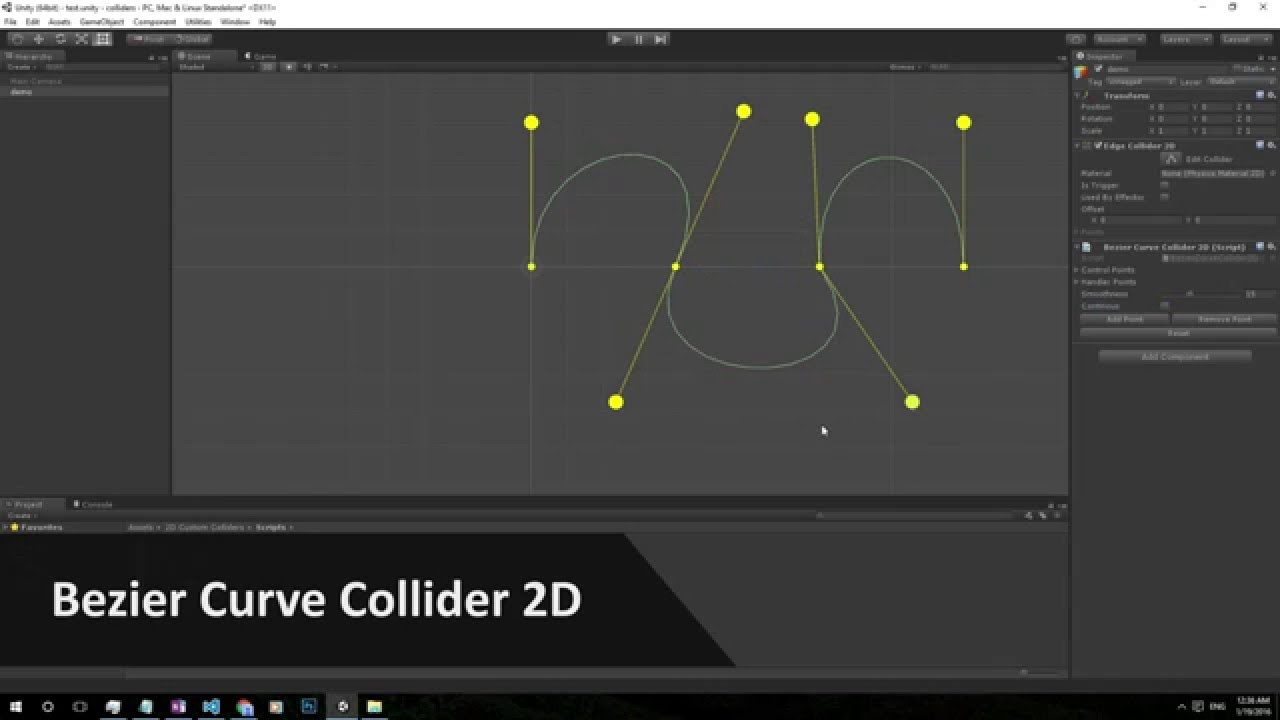 Collider unity