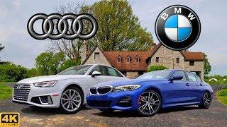 SPORTS SEDAN SHOOTOUT -- 2019 Audi A4 vs. 2019 BMW 3-Series: Comparison