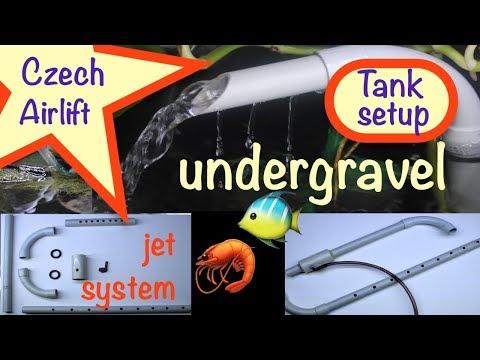 Czech Jet system 🐠 Aquarium setup 🦐 Nano-Bodenfilter