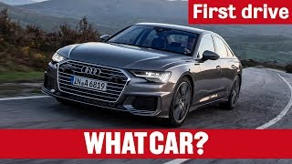 2019 Audi A6 review | What Car? first drive