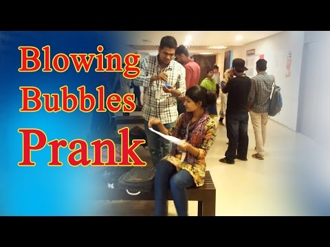 Blowing Bubble Prank in the Versity | University of Asia Pacific