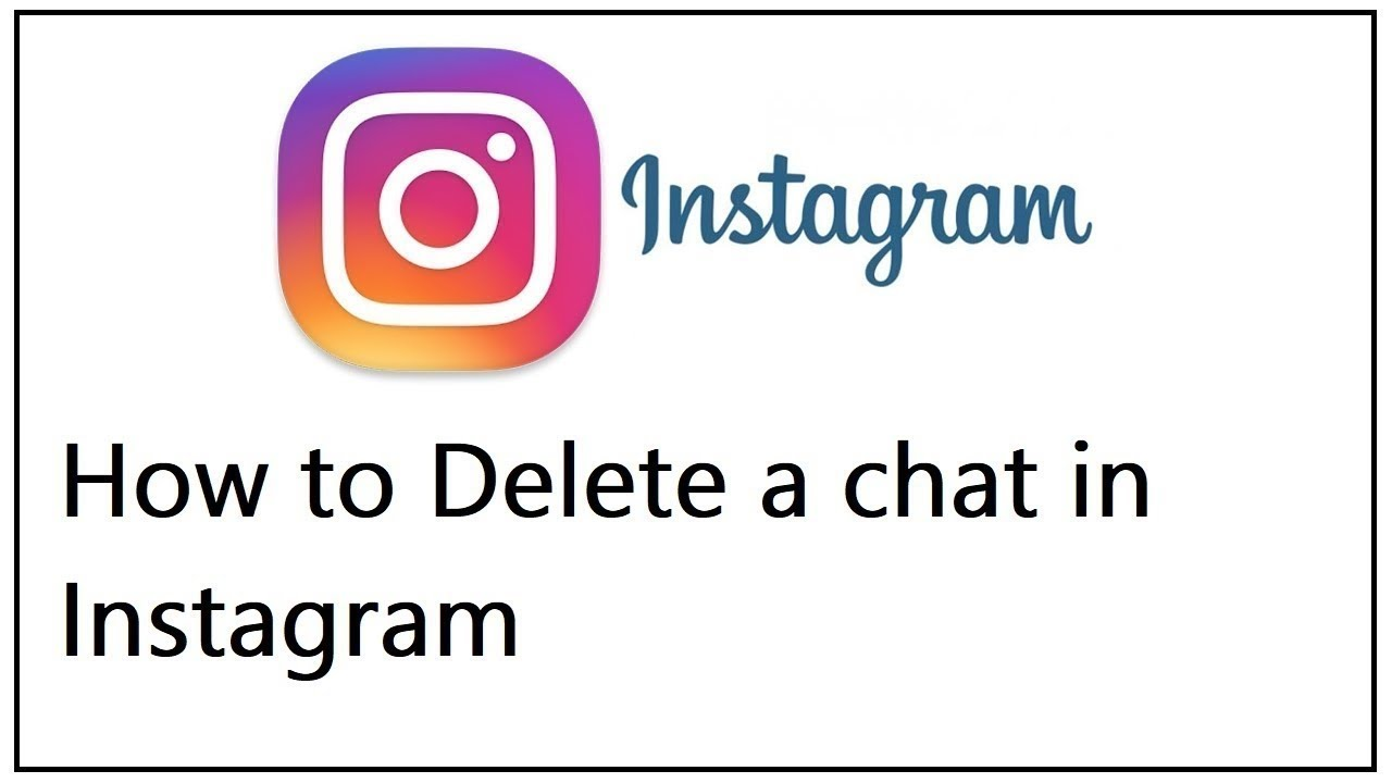 How to Delete a chat in Instagram
