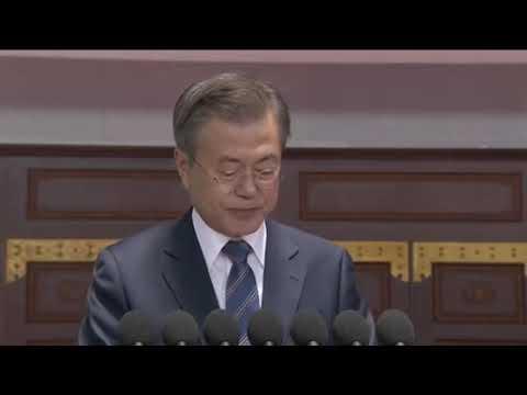 ムン・ジェイン大統領平壌演説(日本語字幕付き)
