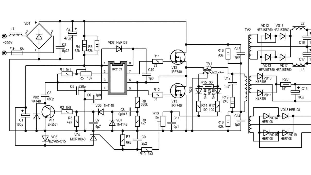схема блока питания на lm431