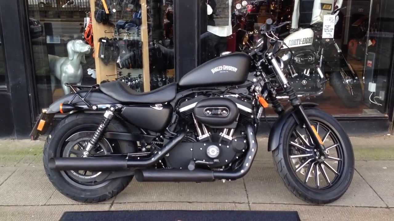 2012 Harley Davidson Sportster Iron Xl883n Remus Cans