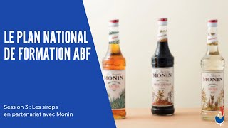 Association des Barmen de France - Plan National de Formation 2021 : 3e session avec Monin !