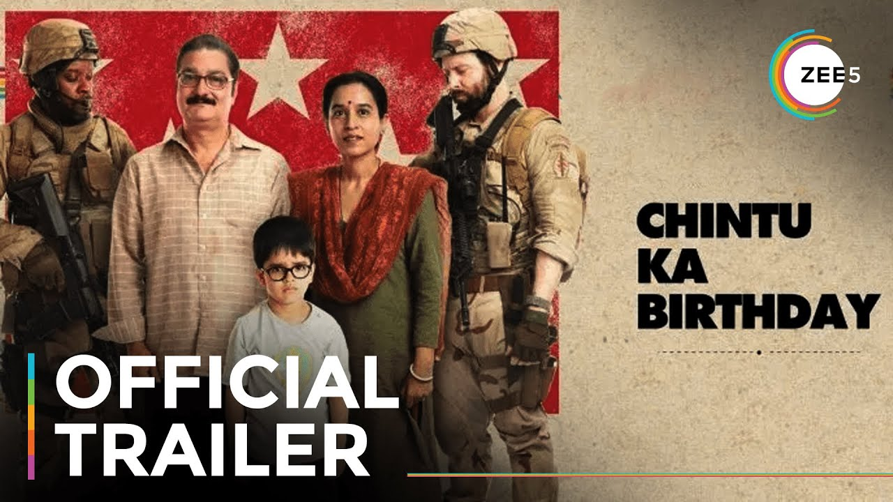 Chintu Ka Birthday Official Trailer A Zee5 Original Film Streaming Now On Zee5 Youtube