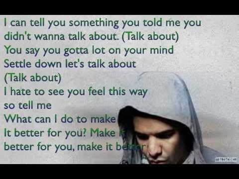 [LYRICS] Drake Ft. Aaliyah - Enough Said