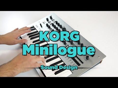 Korg Minilogue Sound Design Demo