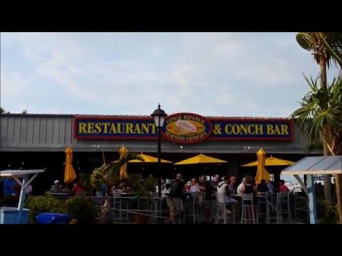 Key West - Tasty Eats on Budget (Conch Republic Seafood - Not a Fan)