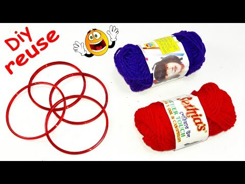 Diy old bangles reuse idea | DIY arts and crafts | best out of waste | Best craft idea