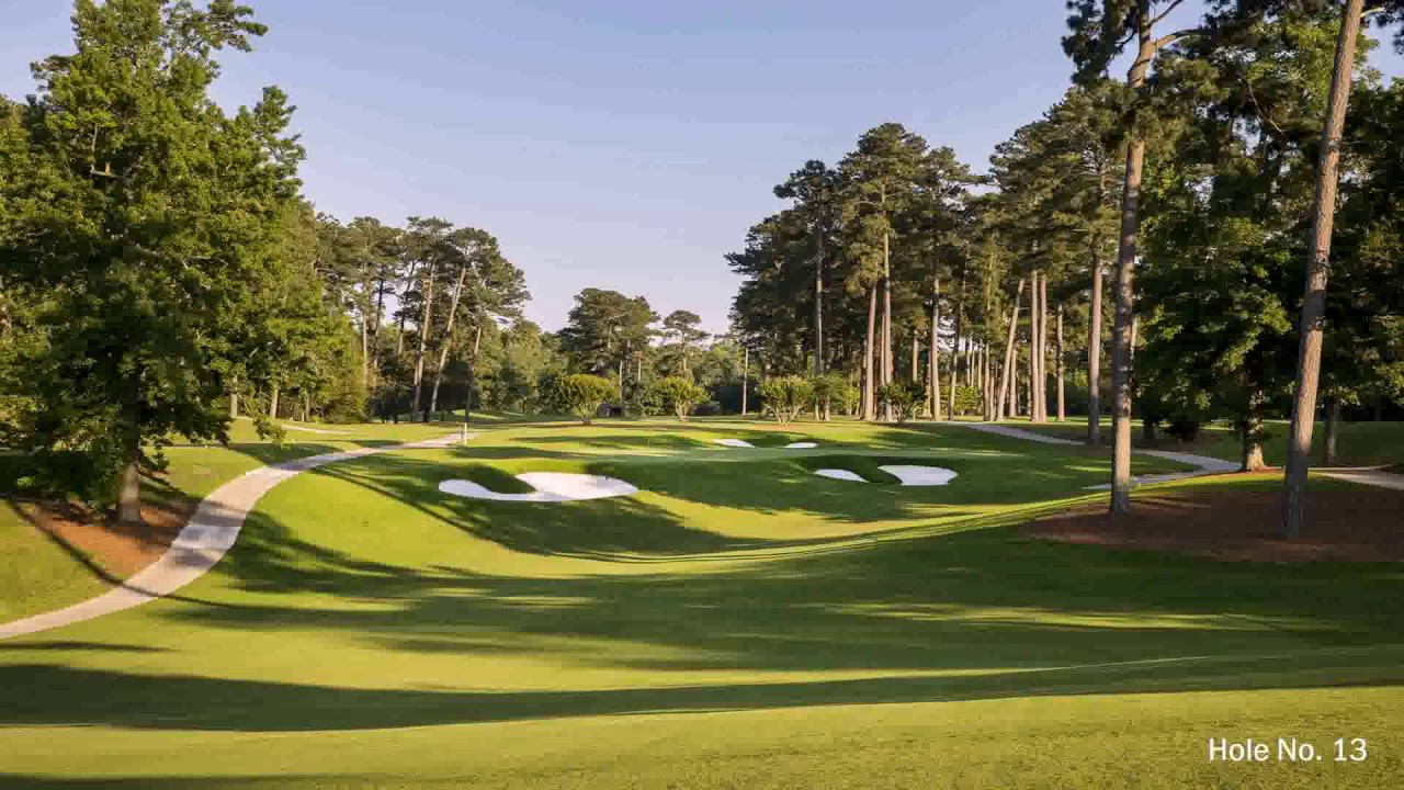 Landscape Architecture Golf Course Design - YouTube