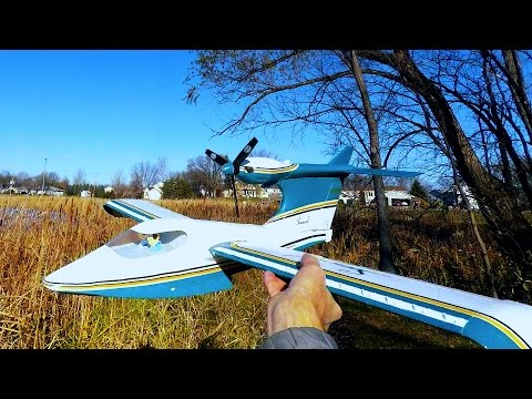 Adding Vortex Generators and More to my Great Planes Electrifly Seawind Model - Nov 14, 2015
