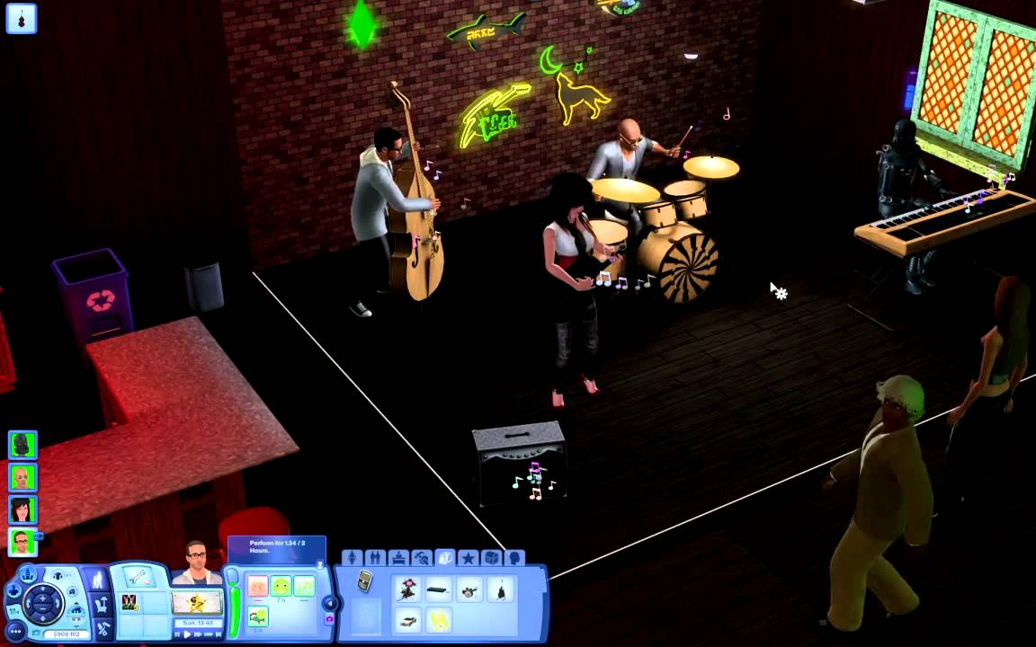 The Sims 3 - Gig Time! - YouTube