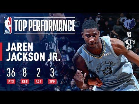 Jaren Jackson Jr. Drops NBA Rookie Season-High 36 Points   November 30, 2018