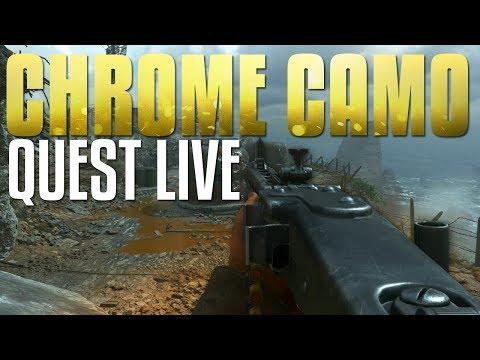 Charity Stream & Chrome Quest #14: MG42 LMG (Call of Duty: WW2 Stream)