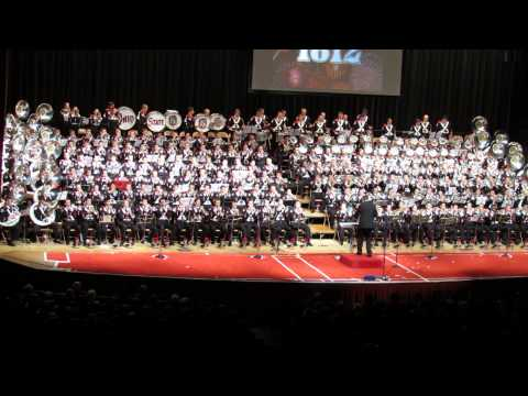 Ohio State Marching Band 2013 Concert 1812 Overture 11 10 2013