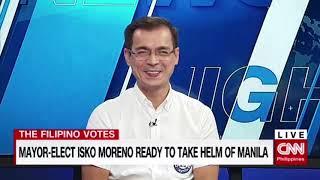 Mayor elect Isko Moreno ready to take helm of Manila